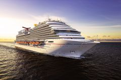 The 4,000-passenger Carnival Panorama, currently being built in Italy, makes Long Beach its home port in December. Photo courtesy Carnival Cruises