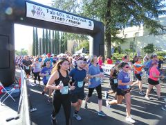There were over 1050 runners this year.