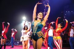The show must go on! Circus Vargas is a community, a friendship and a family. Courtesy Circus Vargas/Wednesday Aja