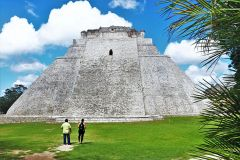Some of the richest and non-touristy Mayan history is found south of Progreso in Uxmal. Photo by David Dickstein