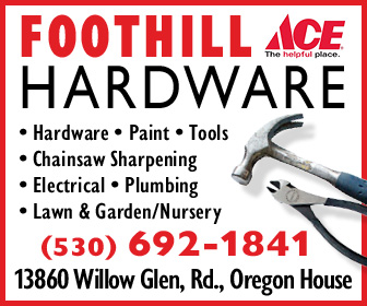Foothill ACE Hardware Ad