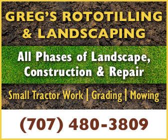 Gregs Rototilling Ad