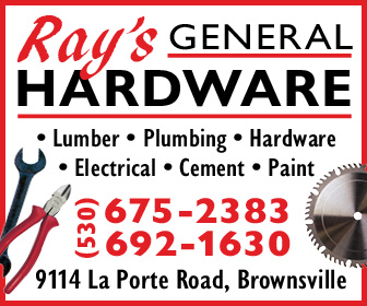 Rays General Hardware Ad