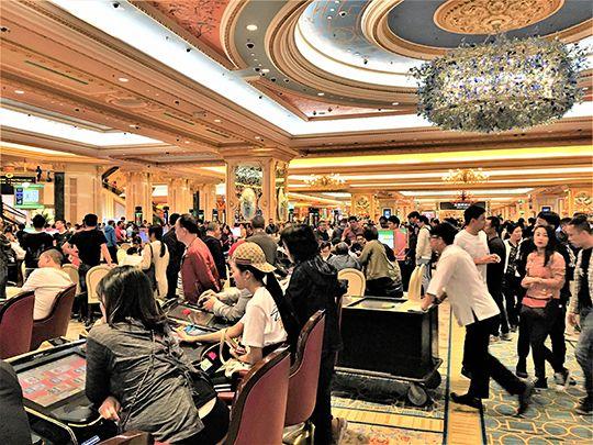 The Venetian Macau is the world's largest casino. Photo by David Dickstein