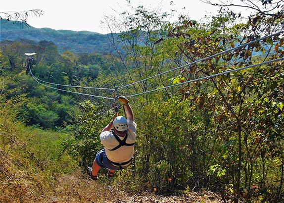 Mazatlán's Huana Coa Adventure Park is known for rugged activities and smooth tequila. Photo by David Dickstein