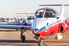 The Snowbirds will be sporting their Canadair CT-144 Tutors at this year's California Capital Airshow. Photo by Mark Loper