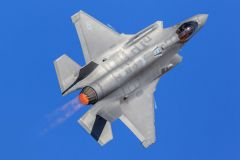 The F-35 Lightning II will be demonstrating 5th generation state-of-the-art jet fighter features. Photo provided by California Capital Airshow