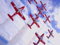 The Snowbirds will be sporting their Canadair CT-144 Tutors at this year's California Capital Airshow. Photo provided by California Capital Airshow